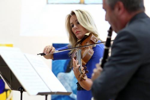 koncert Nečtiny- J. Hosprová