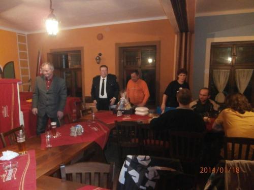 18.1.2013 Výroční shůze SDH Nečtiny