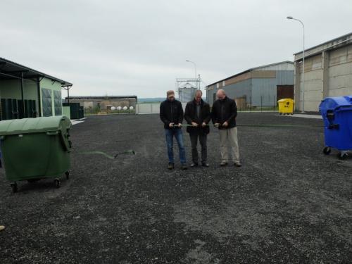 Slavnostní zahájení odpadového dvora