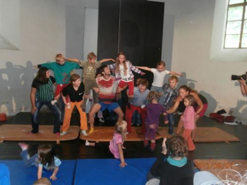 Akrobatický  workshop 1.9.2013