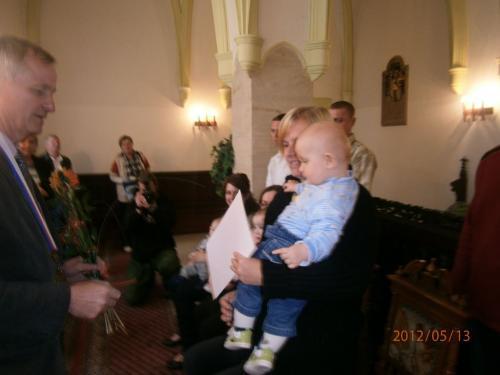Vítání rodáčků 13. 5. 2012