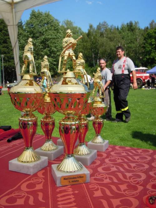Hasičská soutěž O ztracenou kliku 16. 6. 2012