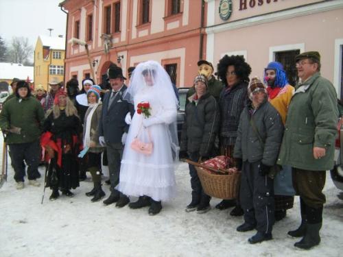 Masky - průvod 13.01.2010