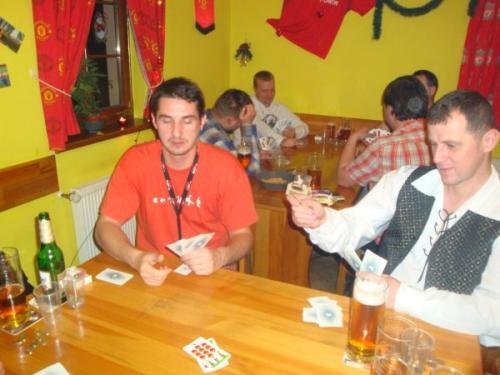 Turnaj - karetní hra JZD 28.12.2009