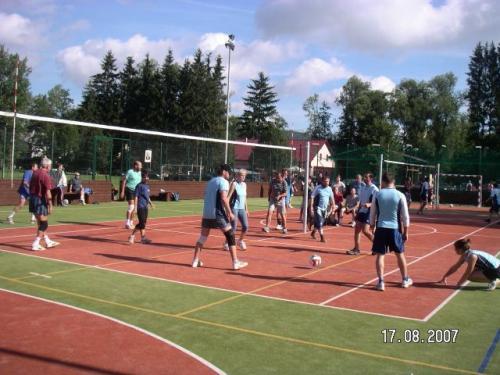 Letní volejbalový turnaj