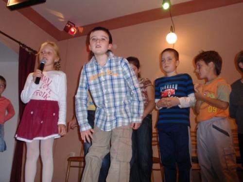 Vystoupení pronaše seniory 9.10.2009