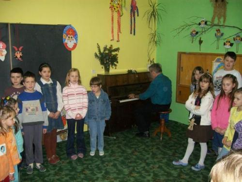 Vánoční koncert ZUŠ 7.12.2009