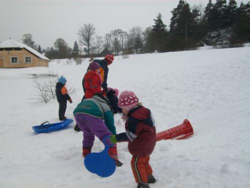 Zimní radovánky - bobování  27.1.2010
