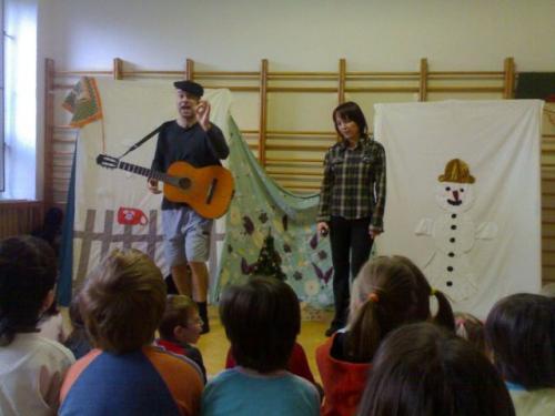 """Divadlo """"Ukradené vánoce"""" 10.12.2007"""