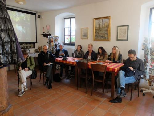 Návštěva německých novinářů 28.9.2014