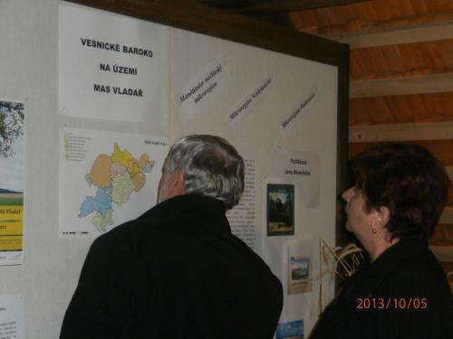 Vernisáž výstavy Venkovské baroko 5.10.2013
