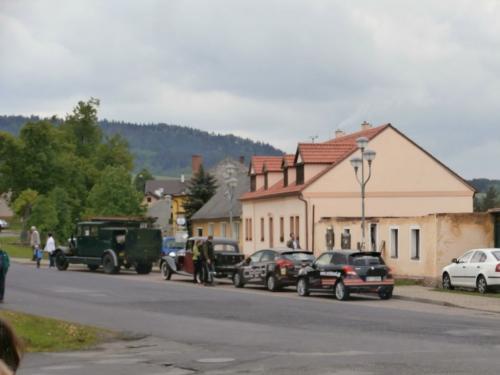 Jízda historických vozidel 25.5.2013