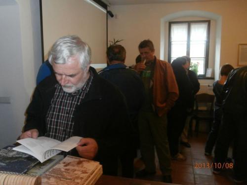 Vernisáž výstavy Jakuba Bayera 8.10.2013