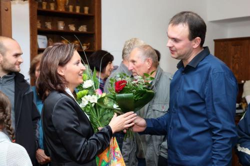 vernisáž manželů Stoklasových  3.11.2012