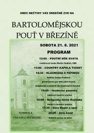 Bartolomějská pouť v Březín