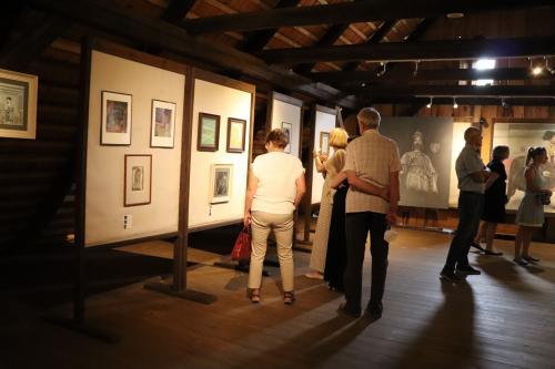 Výstava obrazů Milana Ďuriše